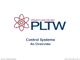 Control Systems An Overview PowerPoint PPT Presentation