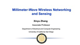 Millimeter-Wave Wireless Networking and Sensing