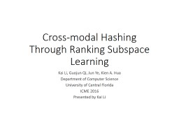 Supervised ranking hash for semantic similarity search