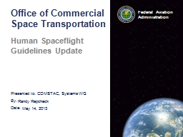 Office of Commercial Space Transportation