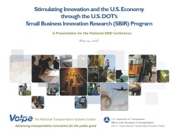 Stimulating Innovation and the U.S. Economy