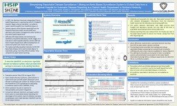 METHODS Streamlining Reportable Disease Surveillance: Utilizing an Alerts-Based Surveillance System