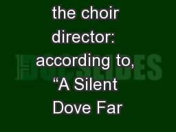 "Psalm 56 For the choir director:  according to, ""A Silent Dove Far"