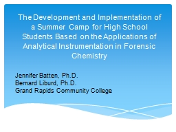 The Development and Implementation of a Summer Camp for High School Students Based on the Applicati