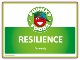 RESILIENCE Assembly WHAT IS RESILIENCE?