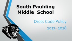 South  Paulding  Middle  School