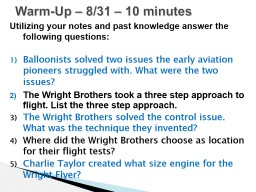 Utilizing your notes and past knowledge answer the following questions: