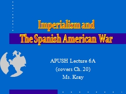 APUSH Lecture 6A (covers Ch. 20)