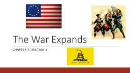 The War Expands Chapter 7, section 2