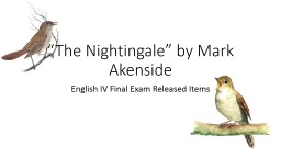 �The Nightingale� by Mark