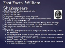 Elizabethan  playwright, poet, and