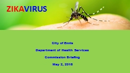 City of Ennis  Department of Health