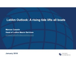LatAm  Outlook: A rising tide lifts all boats