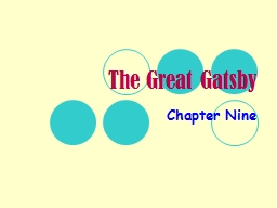 The Great Gatsby Chapter Nine
