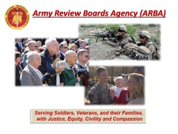 Army Review Boards  Agency (ARBA)