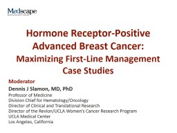 Hormone Receptor-Positive Advanced Breast Cancer: