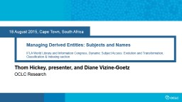 18 August 2015,Cape Town, South Africa PowerPoint PPT Presentation