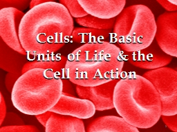 Cells: The Basic Units of Life & the Cell in Action PowerPoint PPT Presentation