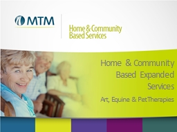 Home  & Community  Based Expanded Services