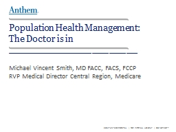 Population Health Management:
