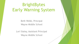BrightBytes   Early  W arning