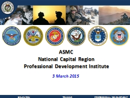 ASMC National Capital Region