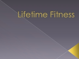 Lifetime Fitness REMEMBER everyday you don't work out THEY do!
