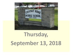 Thursday, September 13,