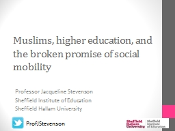 Muslims, higher education, and the broken promise of social mobility