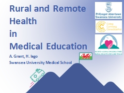 Rural and Remote Health PowerPoint Presentation, PPT - DocSlides