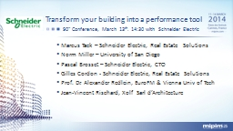 Transform your building into a performance