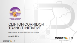 Clifton Corridor Transit Initiative