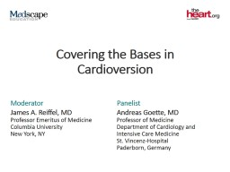Covering the Bases in Cardioversion