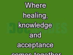 CÚRATE   Where healing, knowledge and acceptance comes together