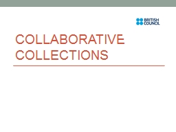 Collaborative Collections