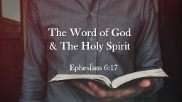 The Word of God  &