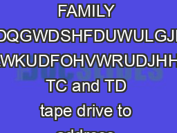 ORACLE DATA SHEET STORAGETEK T TAPE CARTRIDGE FAMILY UDFOHVWRUDJHHNDQGWDSHFDUWULGJHVZRUNLQWDQGHP ZLWKUDFOHVWRUDJHHN TC and TD tape drive to address issues related to data growth security manageability PowerPoint PPT Presentation