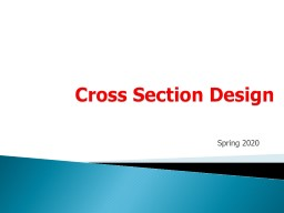 Cross Section Design Spring