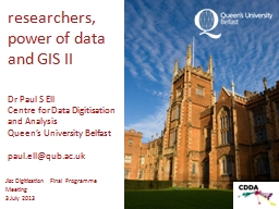 researchers, power of data and