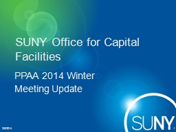 SUNY Office for Capital Facilities