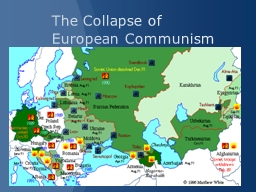 The Collapse of European Communism PowerPoint PPT Presentation