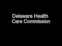 Delaware Health Care Commission