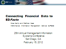 Connecting Financial Data to