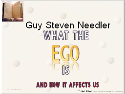 EGO Guy Steven Needler 06 December 2016