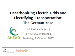 Decarbonizing Electric Grids and Electrifying