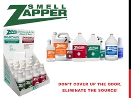 Don't cover up the odor,