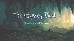 The Odyssey Book 9 Questions and Discussion