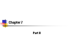 Chapter 7 Part II 2 Miller v. AT&T Corp., 250 F.3d 820 (4th Cir. 2001)