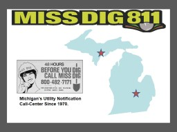 Michigan's Utility Notification