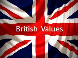 British Values Put your hand up if: